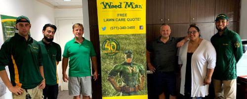 Weed Man Vienna Staff